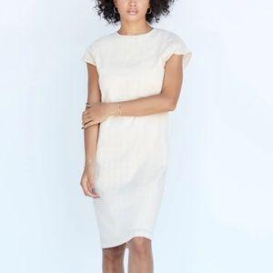 NWT Callahan Jada Cotton Midi Shift Dress XS